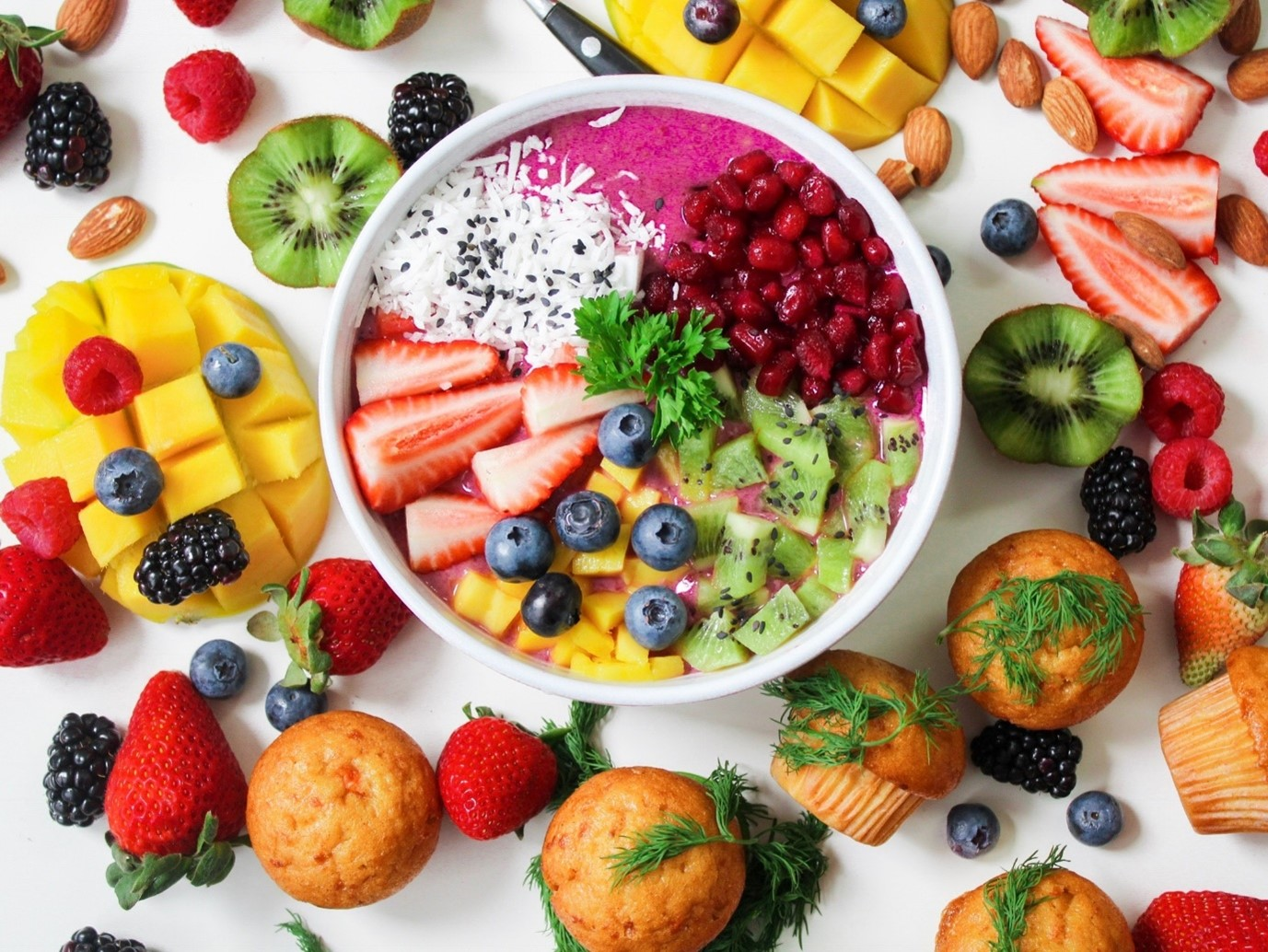Eat healthy and nutritious foods